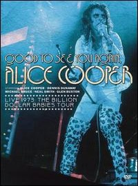 Cooper, Alice: Good to see you again