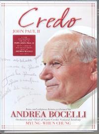 Bocelli, Andrea: Credo pope John Paul II