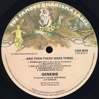 Genesis : ...and then there were three...