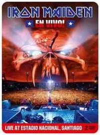 Iron Maiden: En vivo! - Live at estadio nacional, Santiago -limited edition steelbook