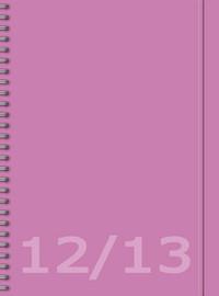 Burde: Senator Savanna roosa 2012-2013 (A6, 12 kk, lukuvuosikalenteri)