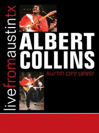 Collins, Albert: Live from Austin TX -cd+dvd