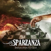 Sparzanza : Death is certain, life is not -special set cd+girlie-shirt