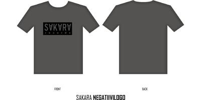 Sakara Records: Negatiivi logo
