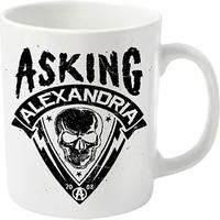 Asking Alexandria: Skull shield
