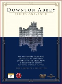 Downton Abbey - Kaudet 1-4 + Christmas at Downton / Journey to the Highlands / The London Season - Downton Abbey - Series 1-4 + Specials Box