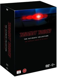 Ritari Ässä - Kaudet 1-5 - Knight Rider - The Complete Series