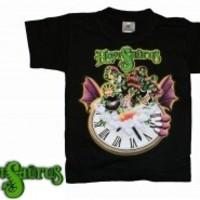 Hevisaurus: Arvoitus musta lasten t-paita
