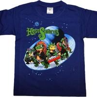 Hevisaurus: Avaruus sininen lasten t-paita