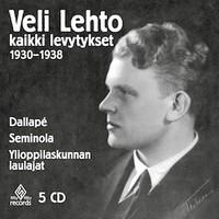 Lehto, Veli: Kaikki levytykset 1930-1938