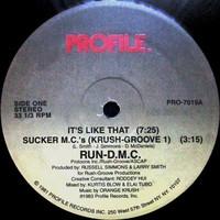 Run DMC: It's Like That / Sucker M.C.'s (Krush Groove 1)