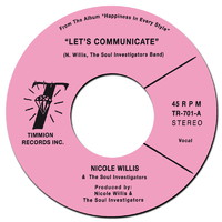 Willis, Nicole: Let's Communicate / Instrumental