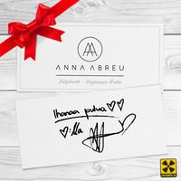 Abreu, Anna: Anna Abreu lahjakortti