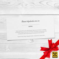 Lahjakortti: Roope Salminen & Koirat lahjakortti