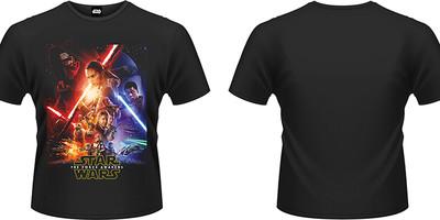 Star Wars The Force Awakens: Force awakens poster