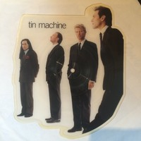 Bowie, David: Tin Machine -Shaped Picture Disc-
