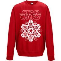 Star Wars: Vader snowflake (red)