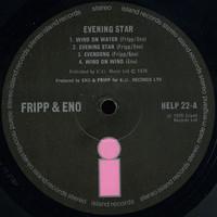 Eno, Brian / Fripp, Robert : Evening Star