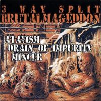 Mincer: 3 Way Split Brutalmageddon