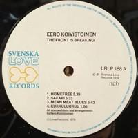 Koivistoinen, Eero: The Front Is Breaking