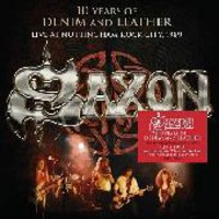 Saxon : Ten years of denim and leather - Live at Nottingham rock city 1989