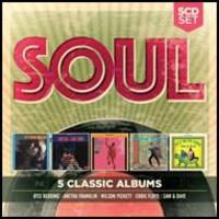 V/A: 5 classic albums: soul