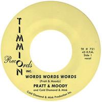 Pratt & Moody: Words words words