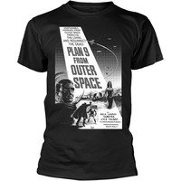 Movie: Plan 9 from outer space - poster (black and white)