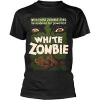 Plan 9 - White Zombie: White zombie - poster (black)