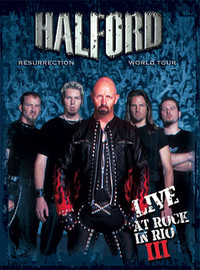 Halford: Resurrection world tour - Live at rock in rio III -digipack dvd+cd-