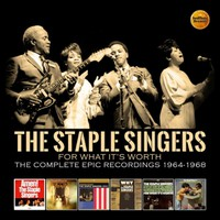 Staple Singers: For what it's worth ~ the complete epic recordings 1964-1968: 3cd clamshell boxset