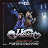 Heart : Live in atlantic city