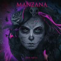 Manzana: Silver metal