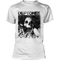 Deftones: Skull (white)