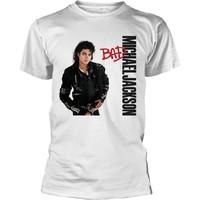 Jackson, Michael: Bad (white)