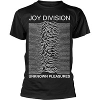 Joy Division: Unknown pleasures (black)