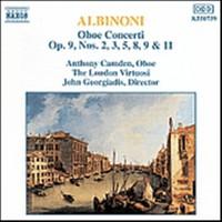 Albinoni, Tomaso / Camden, Anthony: Oboe concert op 9