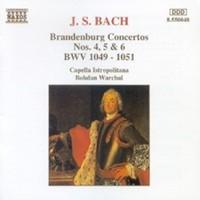 Bach, Johann Sebastian: Bach:brandenburg ctos 4-6