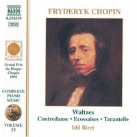 Chopin, Frederic: Waltzes - piano music vol 13