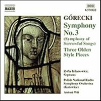Gorecki, Henryck: Symphony no 3
