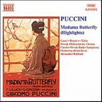 Puccini, Giacomo: Madame butterfly hl