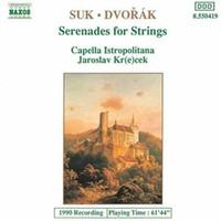 Dvorak, Antonin: Serenade for strings