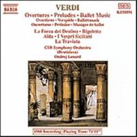 Verdi, Giuseppe: Overtures - preludes - ballet music