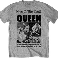 Queen: News of the World 40th Front Page