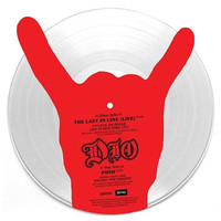 Dio: The last in line (live) -shaped picture disc-