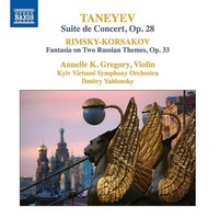 Taneyev, Sergey: Suite de concert; fantasia on two russian themes