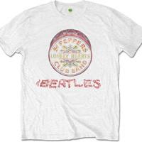 Beatles: Flowers Logo & Drum