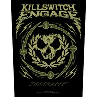 Killswitch Engage: Skull wreath (backpatch)