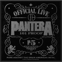 Pantera: Official live 101% proof (packaged)