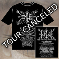 Demilich: Total Domination Of Europe Tour 2019 Limited T-shirt